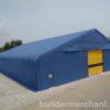 Big Blue Tent - Metal Door Main 1 (logo)