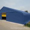 Big Blue Tent - Metal Door Main 2 (logo)